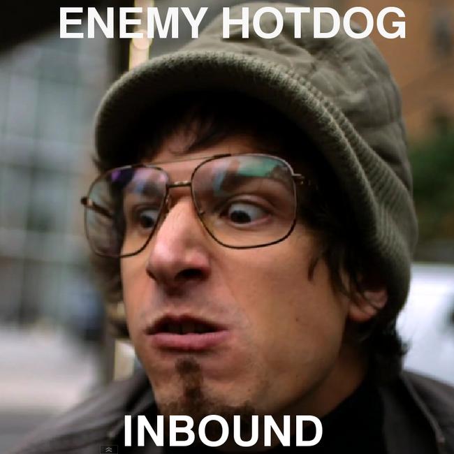 Enemy hotdog