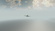 Spitfire.3rd person rear BF1942
