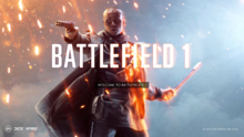 Battlefield 1 New Splash Art