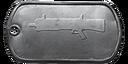BF4 UTS-15 Master Dog Tag