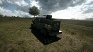 BF1 Artillery Truck AA Back