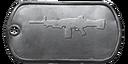 BF4 MG4 Master Dog Tag