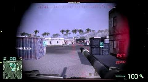 Battlefield Bad Company 2 - PKT (Co-Axial MG)
