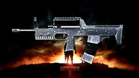 Battlefield 3 - A-91 Sound