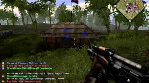 Battlefield Vietnam Operation Cedar Falls Gameplay