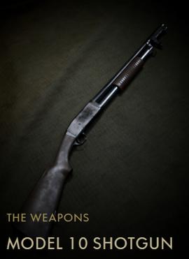 Model 10 Shotgun Codex Entry