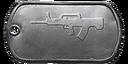 BF4 QBZ-95-1 Master Dog Tag