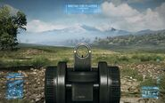 BF3 L96 Iron Sights