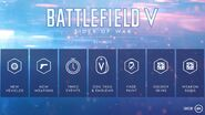 Battlefield V Tides of War Rewards