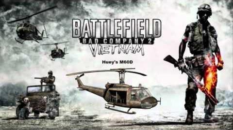 Battlefield Bad Company 2 Vietnam - Huey M60D firing sound