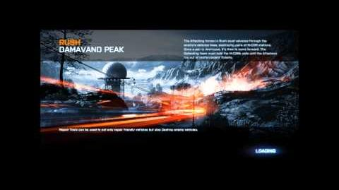 Battlefield 3 Damavand Peak Loading Screen (Loud Version)