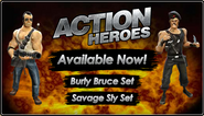 BFH Action Heroes Sets Promo