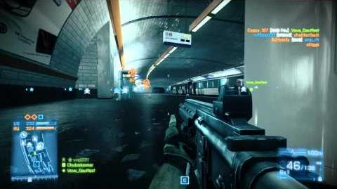 Battlefield 3 (PC) - Operation Metro (Conquest)