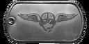 BF4 Battlefield Veteran Dog Tag