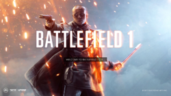 Battlefield 1 CTE Splash Art