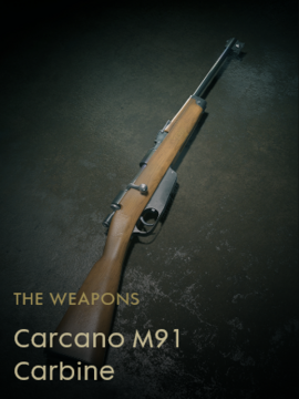 Carcano M91 Carbine Codex Entry