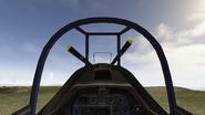 P-51 cockpit.BF1942