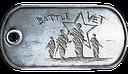 BF3 Battle Vet Dog Tag