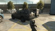 Intervention suv stealth rear