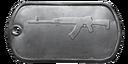 BF4 RPK-12 Master Dog Tag