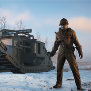 Battlefield 1 White Army Tanker