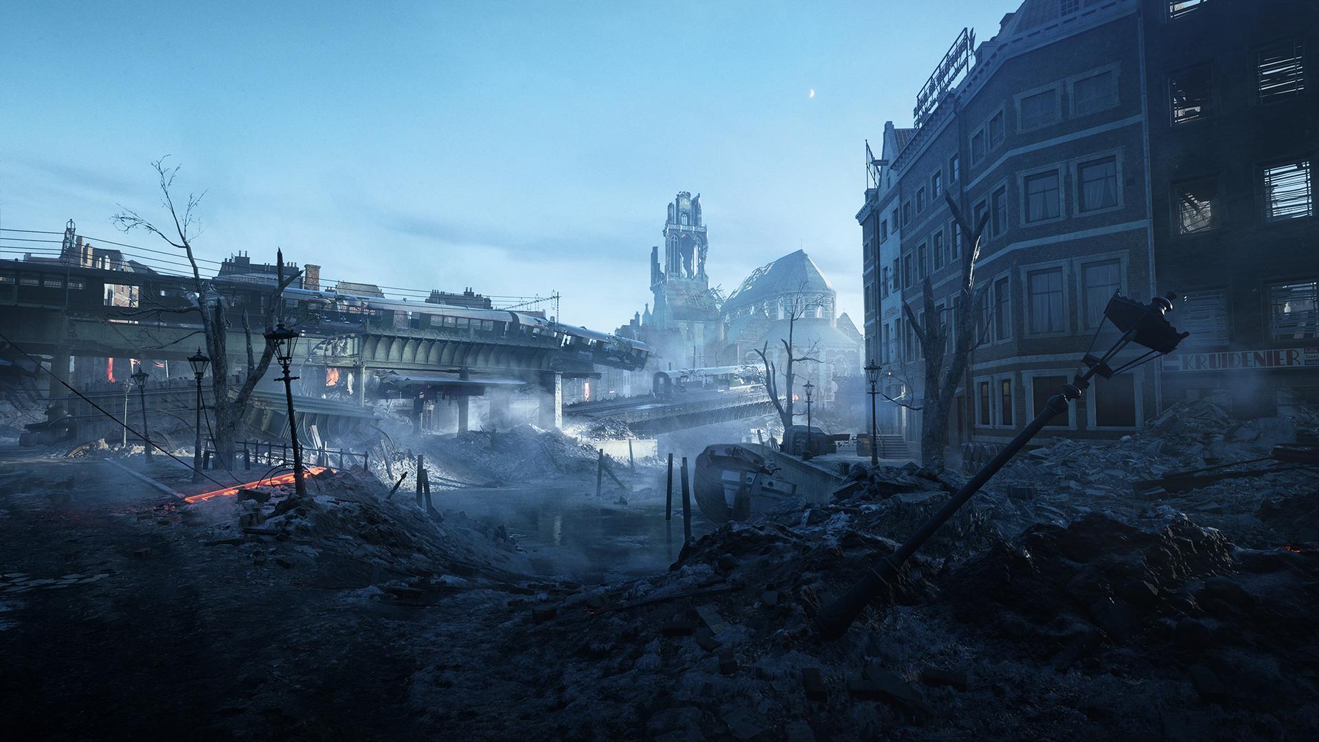 Battlefield 6 Devastation of Rotterdam