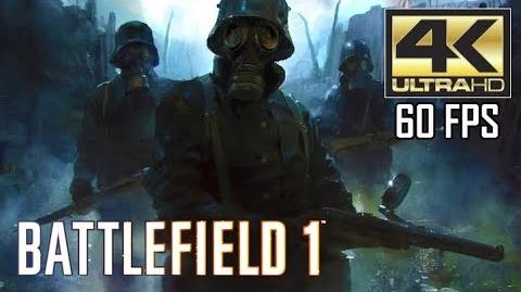Battlefield One Gameplay - No Hud, Singleplayer Campaign Mission 1 - Storm of Steel