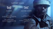 Battlefield V Support Combat Roles