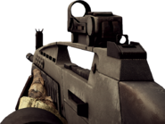 BFBC2 XM8 LMG Red Dot Sight