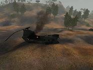 BFV Crashed Chinook