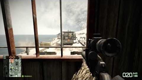Arica Harbor Hidden Sniper Spot