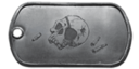 BF4 Bones Eyepatch Dog Tag