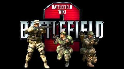 Battlefield 2 - Son Pistolet MR-444 avec silencieux