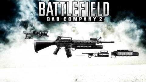 Battlefield Bad Company 2 - M16A2 Sound