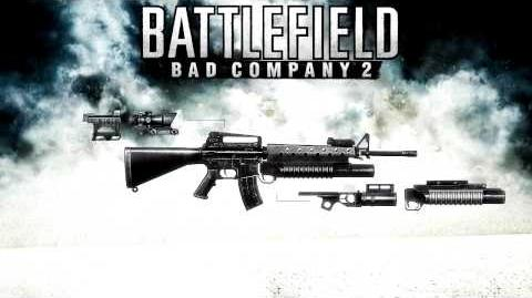 Battlefield Bad Company 2 - M16A2 Sound