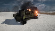 BF1 Assault Truck Destroyed
