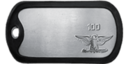 Rank 100 Dog Tag