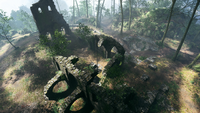 Argonne Forest Domination Abbey Ruin