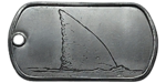 Carcharodon Dog Tag