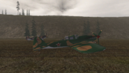 IL-2 right view.BF1942