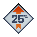 BF4 25 Boost Icon