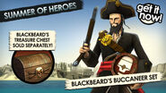 BFH Blackbeard's Buccaneer Set Promo