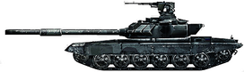 BF3 T-90 ICON