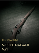 Mosin-Nagant M91 Codex Entry