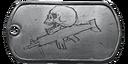 BF4 Carbine Medal Dog Tag