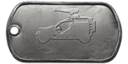 BF4 VDV Buggy Master Dog Tag