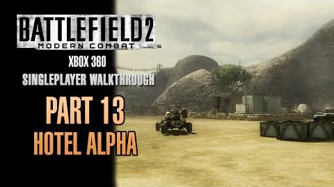 Battlefield 2 Modern Combat Walkthrough (Xbox 360) - Part 13 - Hotel Alpha