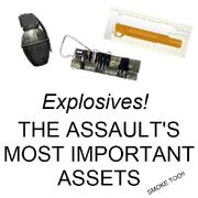 Assaultsuseexplosives
