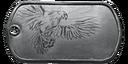 BF4 Jet Fighter Medal Dog Tag