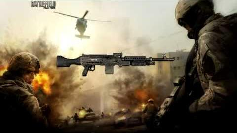 Battlefield Play4Free - M240 Sound